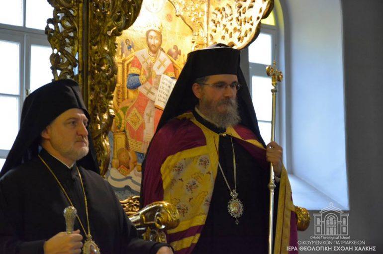 Εσπερινός του Αγίου Φωτίου στη Χάλκη – Συμπροσευχόμενος ο Οικ. Πατριάρχης (ΦΩΤΟ)
