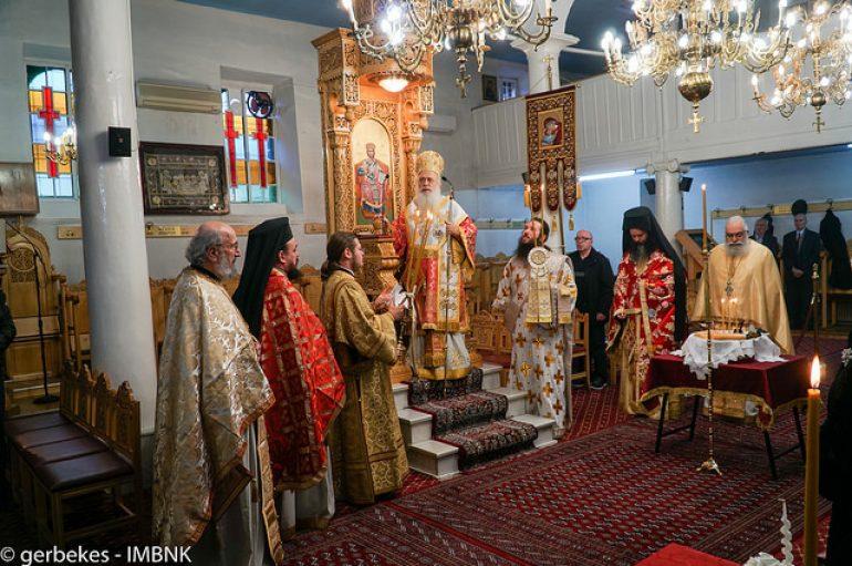 Η εορτή του Αγίου Παρθενίου στην Ι. Μ. Βεροίας (ΦΩΤΟ)