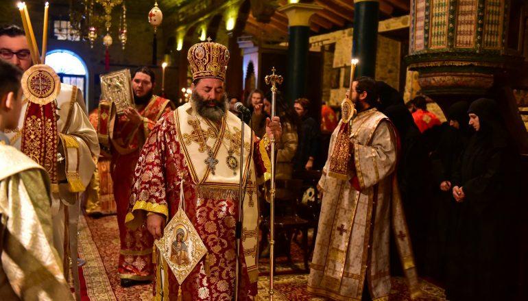 Αγρυπνία για την Αγία Ακυλίνα στην Ι. Μ. Λαγκαδά (ΦΩΤΟ)
