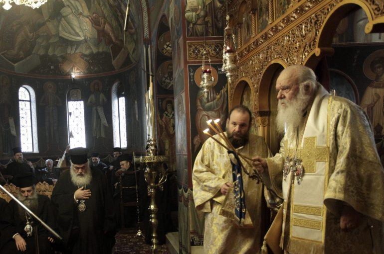 Αρχιεπίσκοπος Αθηνών: «Η πατρίδα μας σήμερα χρειάζεται όραμα και πρότυπα» (ΦΩΤΟ)