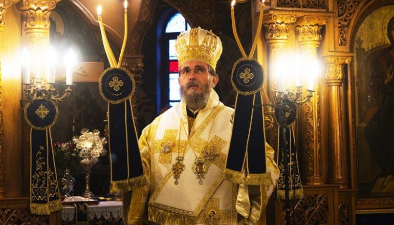 Στην γενέτειρά του λειτούργησε και μίλησε ο Επίσκοπος Αρούσης (ΦΩΤΟ)