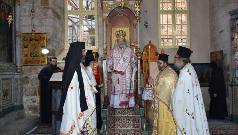 Η εορτή του Αγίου Χαραλάμπους στο Πατριαρχείο Ιεροσολύμων (ΦΩΤΟ – ΒΙΝΤΕΟ)