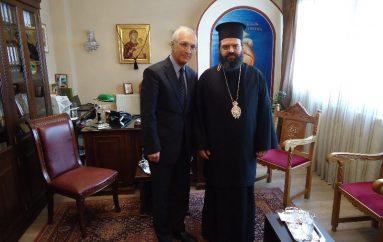 Ο νέος Πρόξενος της Ρωσίας στο Μητροπολίτη Μαρωνείας (ΦΩΤΟ)