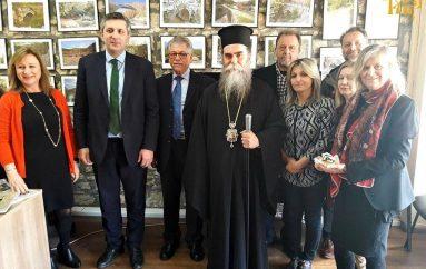 Ο Μητροπολίτης Άρτης ευλόγησε τη Βασιλόπιτα του Τουριστικού Συλλόγου «ο Άραχθος»