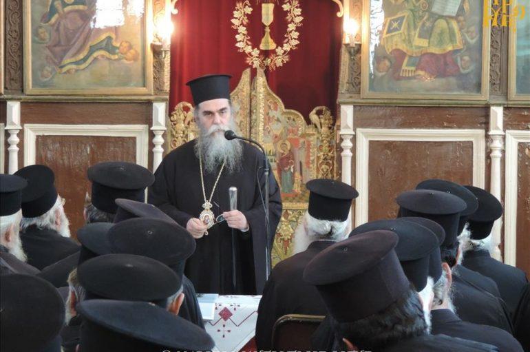 Ιερατική Σύναξη στην Ιερά Μητρόπολη Άρτης (ΦΩΤΟ)