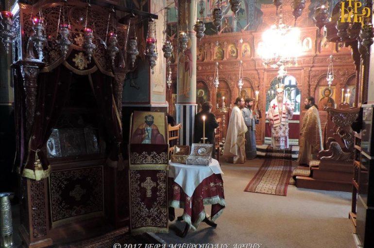 Κυριακή της Τυρινής στην Ιερά Μονή Ροβελίστης Άρτης (ΦΩΤΟ)