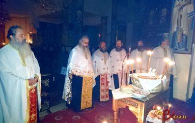 Αγρυπνία προς τιμην του Αγίου Πολυκάρπου στον Ι. Ν. Αγίου Γεωργίου Αγρινίου (ΦΩΤΟ)