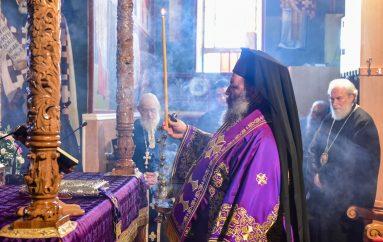 Προηγιασμένη Θεία Λειτουργία στην Ιερά Μητρόπολη Λαγκαδά (ΦΩΤΟ)