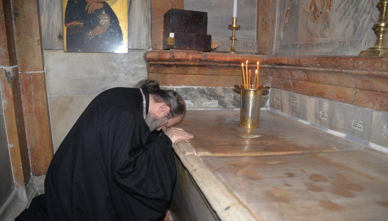 Μητροπολίτης Πατρών σε Πατριάρχη Ιεροσολύμων: «Είστε φύλακες της Αγίας Γης» (ΦΩΤΟ)