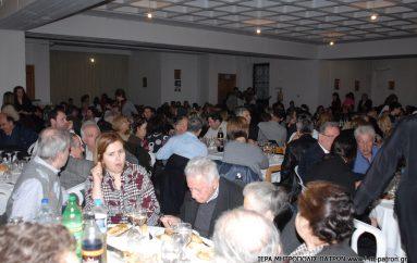 Γεύμα αγάπης για την ανέγερση του Ι. Ν. Αγ. Χαραλάμπους Τσουκαλεΐκων Πατρών (ΦΩΤΟ)
