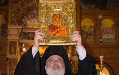 Η εικόνα της Παναγίας Σουμελά στην Ορεστιάδα (ΦΩΤΟ)