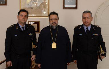 Στο Μητροπολίτη Μεσσηνίας ο νέος Διοικητής της Πυροσβεστικής Καλαμάτας (ΦΩΤΟ)