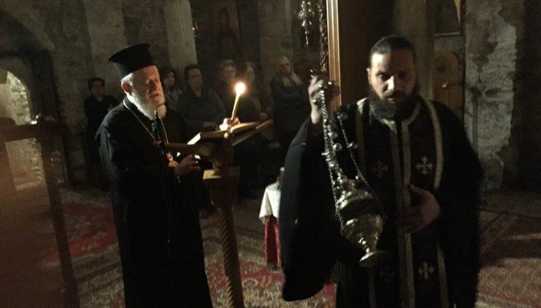 Αρχή της Σαρακοστής στην Ι. Μητρόπολη Χαλκίδος (ΦΩΤΟ)