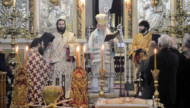 Μνημόσυνο του μακαριστού Μητροπολίτου Αιτωλίας Θεοκλήτου Αρβαντινή (ΦΩΤΟ)