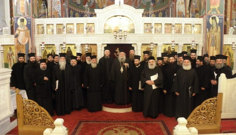 Επιμορφωτικό Σεμινάριο Κληρικών στην Ι. Μ. Παροναξίας (ΦΩΤΟ)