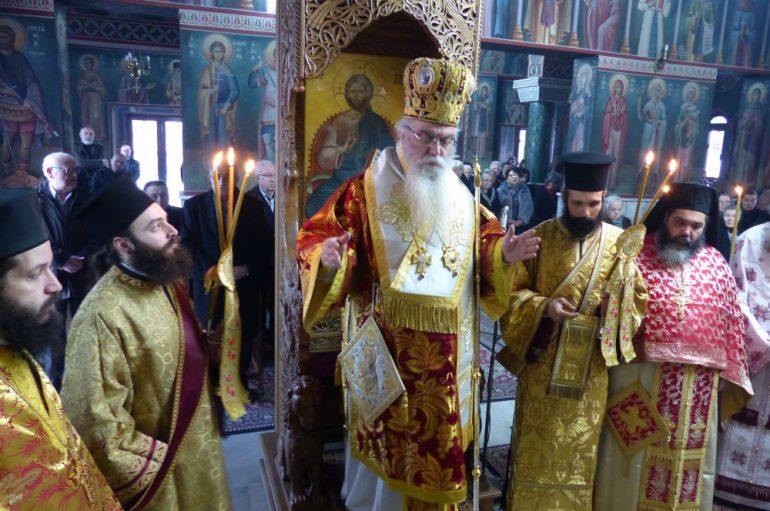 Τον Άγιο Τρύφωνα εόρτασε η Ι. Μητρόπολη Καστορίας (ΦΩΤΟ)