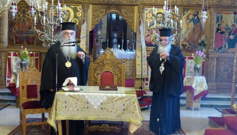 Ο Μητροπολίτης Κοζάνης στην Ιερατική Σύναξη της Ι. Μ. Καστορίας (ΦΩΤΟ)