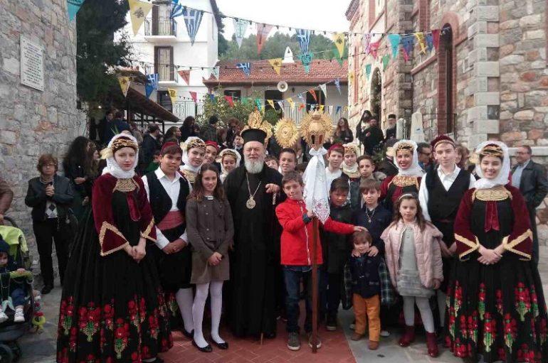 Η Σκόπελος εόρτασε τον Πολιούχο της Άγιο Ρηγίνο (ΦΩΤΟ)