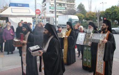 Ο Υμηττός υποδέχθηκε Τίμιο Ξύλο και Ιερά Λείψανα Αγίων (ΦΩΤΟ)