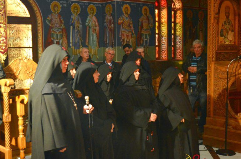 Αγρυπνία για τον Άγιο Παρθένιο στην Ι. Μονή Μαλεβής (ΦΩΤΟ)
