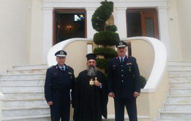 Στον Μητροπολίτη Ρεθύμνης ο Γενικός Αστυνομικός Δ/ντης Κρήτης (ΦΩΤΟ)
