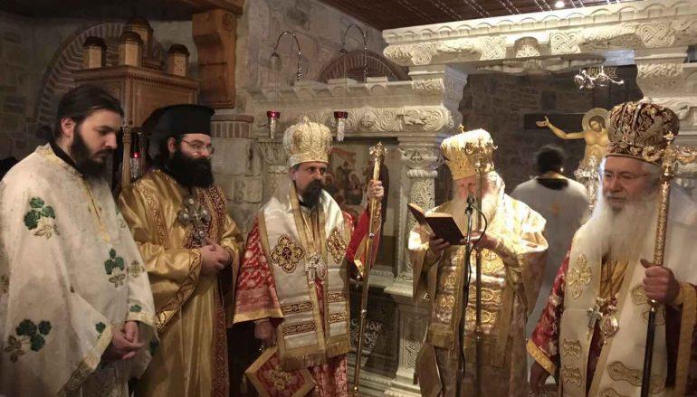 Τα ονομαστήρια του Θεοφιλ. Επισκόπου Τανάγρας Πολυκάρπου (ΦΩΤΟ)