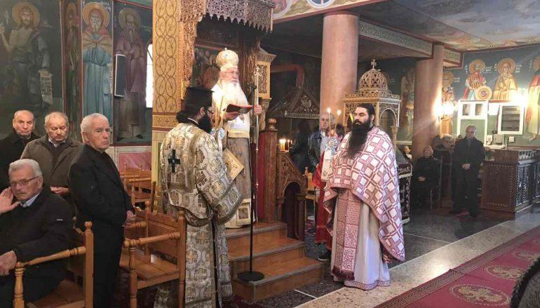 Η Κυριακή της Απόκρεω στον Ι. Ν. Αγίου Κωνσταντίνου Καλοχωρίου (ΦΩΤΟ)