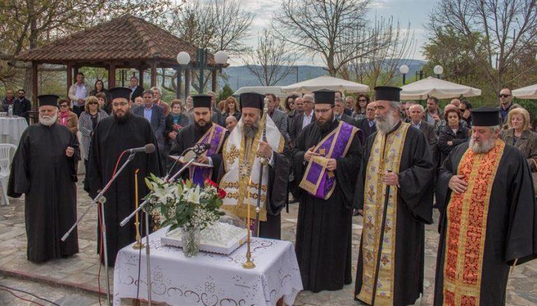 Ο Μητροπολίτης Θεσσαλιώτιδος στις εκδηλώσεις μνήμης των πεσόντων της 30ής Μαρτίου 1943