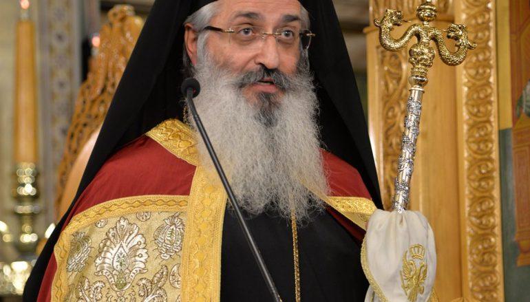 Αλεξανδρουπόλεως: «Η Παναγία μας περιμένει για να μας χαρίσει το ίδιο Της το παιδί» (ΦΩΤΟ)