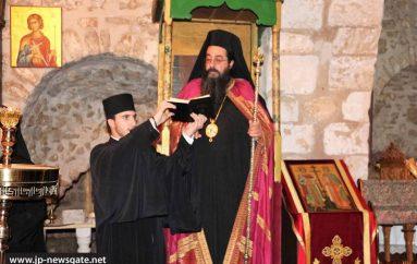 Η εορτή των Αγίων Θεοδώρων στο Πατριαρχείο Ιεροσολύμων (ΦΩΤΟ)