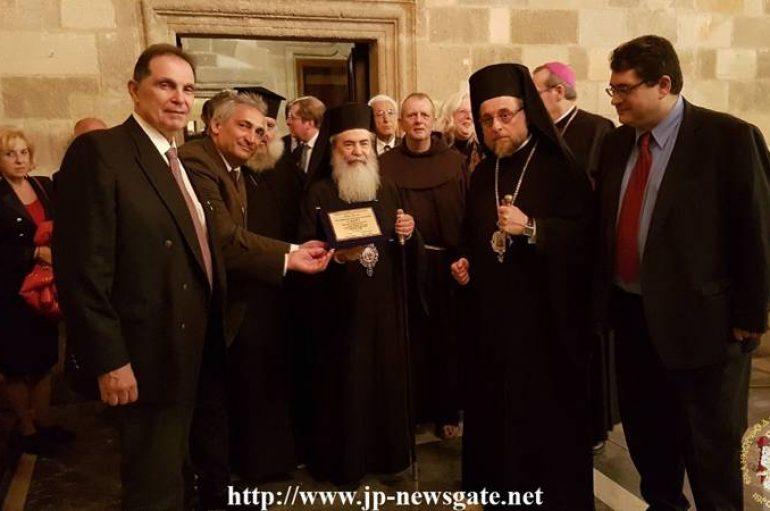 Ο Πατριάρχης Ιεροσολύμων στην Ρόδο για τα 70 χρόνια ενσωμάτωσής της στην Ελλάδα (ΦΩΤΟ)