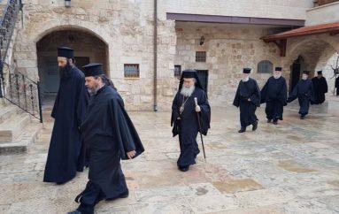 Θεία Λειτουργία των Προηγιασμένων Δώρων στο Πατριαρχείο Ιεροσολύμων (ΦΩΤΟ)