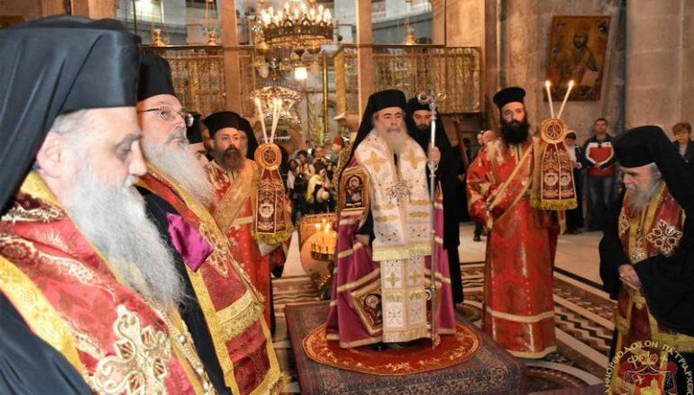 Δοξολογία για την Εθνική Εορτή της 25ης Μαρτίου στο Πατριαρχείο Ιεροσολύμων (ΦΩΤΟ-ΒΙΝΤΕΟ)