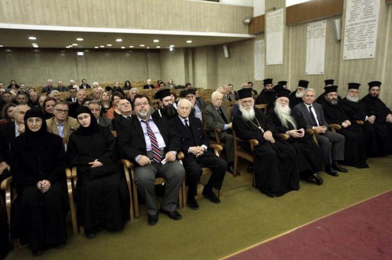 Ο Αρχιεπίσκοπος στην παρουσίαση βιβλίου για την Ι. Μ. Αγ. Θεοδώρων Καλαβρύτων (ΦΩΤΟ)