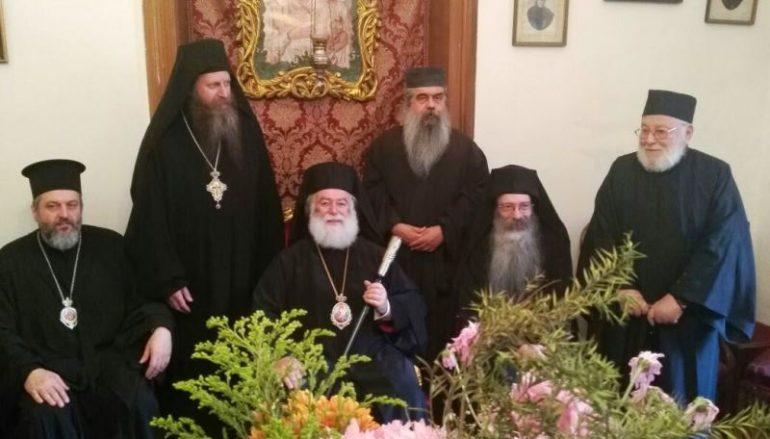 Ο Πατριάρχης Αλεξανδρείας στο Σιναϊτικό Μετόχι στο Κάϊρο (ΦΩΤΟ)