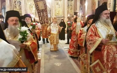 Η Κυριακή της Ορθοδοξίας στο Πατριαρχείο Ιεροσολύμων (ΦΩΤΟ-ΒΙΝΤΕΟ)
