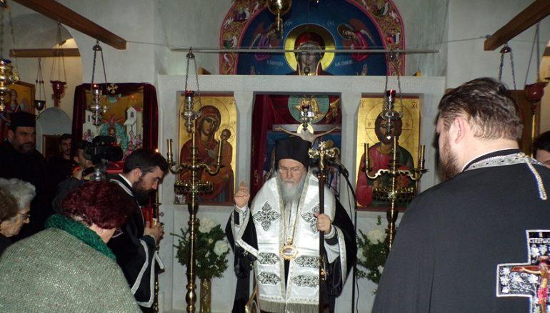 Προηγιασμένη Θ. Λειτουργία στην Ι. Μονή Κοιμήσεως της Θεοτόκου Λεχώβης