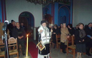 Προηγιασμένη Θ. Λειτουργία στην Ι. Μονή Αγ. Δημητρίου Κορινθίας (ΦΩΤΟ)