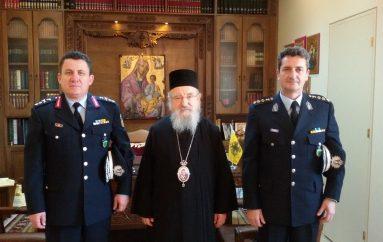 Ο Γεν. Αστυνομικός Διευθυντής Δυτικής Ελλάδος στον Μητροπολίτη Αιτωλίας