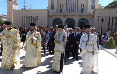 """Ο εορτασμός της """"Διπλής"""" εορτής στην Ι. Μ. Κορίνθου (ΦΩΤΟ)"""