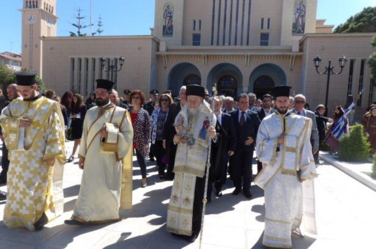 Ο εορτασμός της «Διπλής» εορτής στην Ι. Μ. Κορίνθου (ΦΩΤΟ)