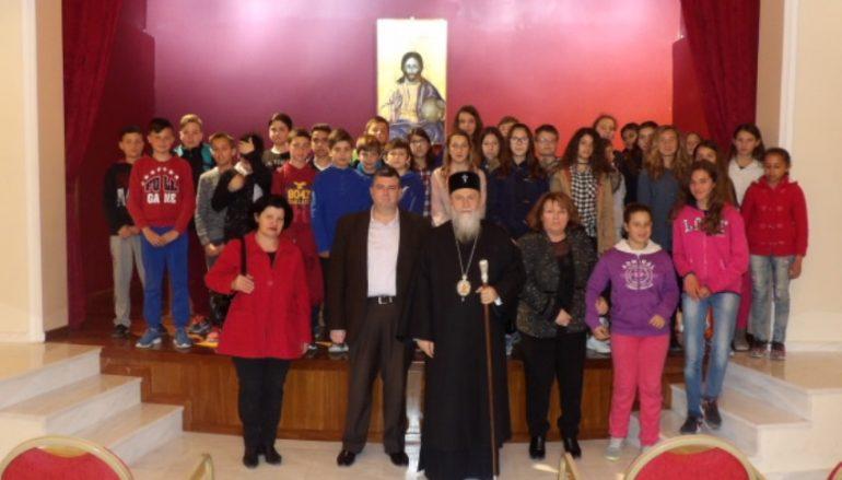 Τον Μητροπολίτη Κορίνθου επισκέφθηκαν μαθητές της Μητρόπολης (ΦΩΤΟ)