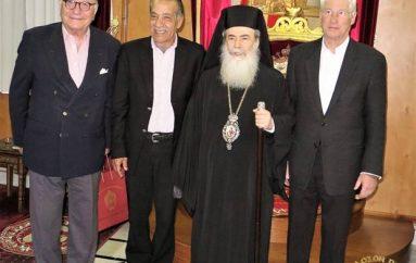 Ο ηθοποιός Richard Gere επισκέφθηκε τον Πατριάρχη Ιεροσολύμων (ΦΩΤΟ-ΒΙΝΤΕΟ)