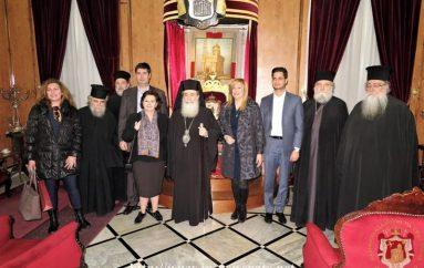 Στον Πατριάρχη Ιεροσολύμων η Φώφη Γεννηματά (ΦΩΤΟ)