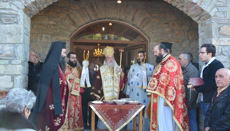 Η Εορτή του Αγίου Θεοδώρου του Τήρωνος στην Ελευθερούπολη (ΦΩΤΟ)