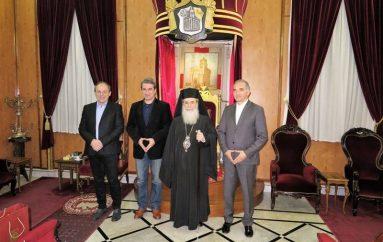 Αντιπροσωπεία Ελλήνων Βουλευτών στον Πατριάρχη Ιεροσολύμων (ΦΩΤΟ)