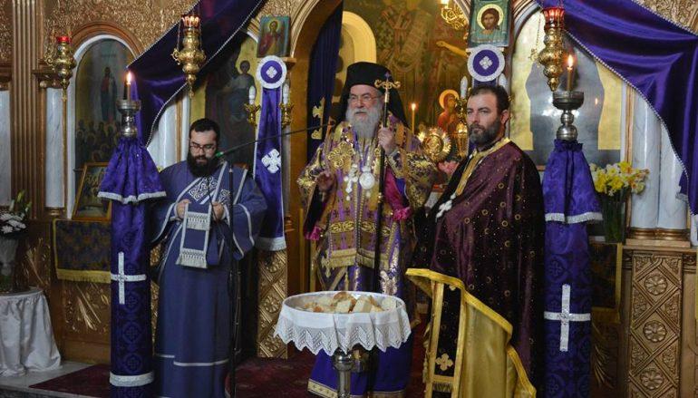 Προηγιασμένη Θεία Λειτουργία στο Ακροβούνι Παγγαίου (ΦΩΤΟ-ΒΙΝΤΕΟ)