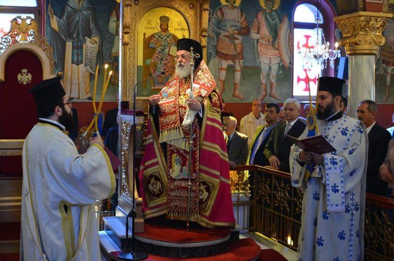 Ο εορτασμός της 25ης Μαρτίου στην Ι.Μ. Ελευθερουπόλεως (ΦΩΤΟ)