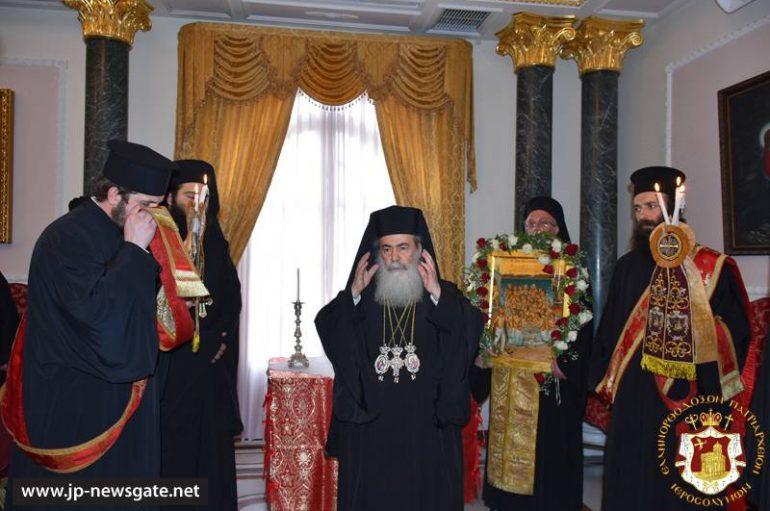 Ονομαστική εορτή Πατριάρχη Ιεροσολύμων Θεοφίλου (ΦΩΤΟ-ΒΙΝΤΕΟ)