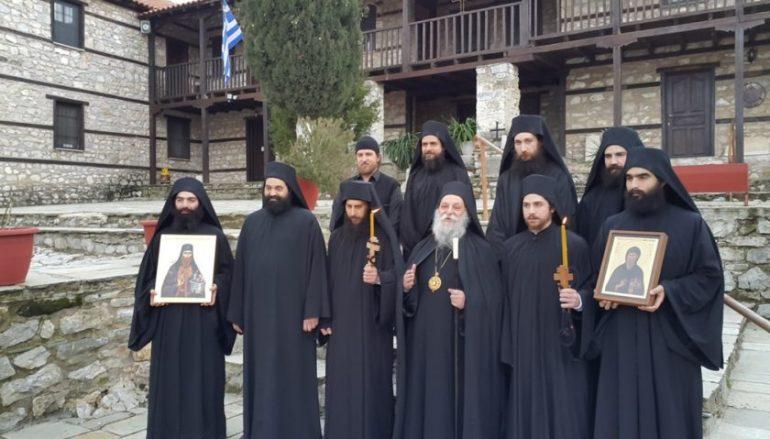 Κουρά νέων Μοναχών στην Ι. Μονή Αγ. Νικάνορος Ζάβορδας (ΦΩΤΟ)